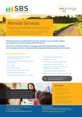Remote Services - Ongoing timetable amendments