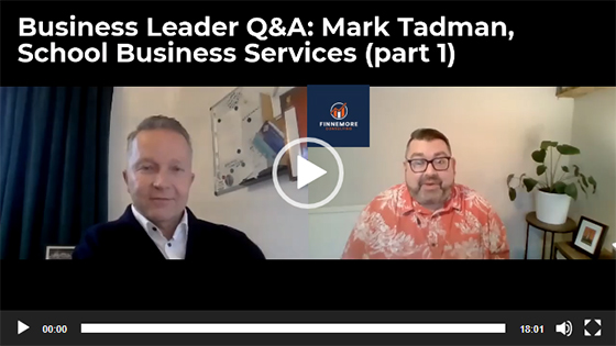 Finnemore Consulting Mark Tadman interview